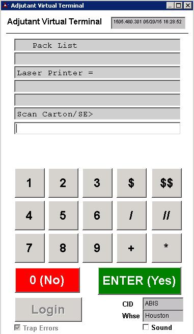 Barcode Scanner - Prompt 56 - Print Pack List - Adjutant Wiki